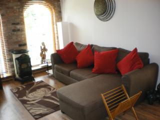 The corner sofa