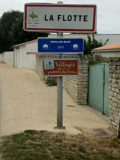 La Flotte is one of the prettiest villages in France with Pavillion Bleu rated very clean seawater