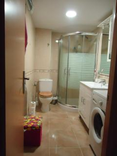 Bathroom with shower room only (no bath)