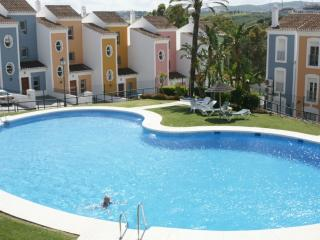 Large pool in beautiful communal gardens - maintained daily. 2nd pool close by.