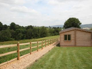 Madoc Lodge set secluded south shropshire location