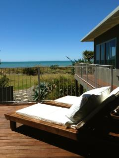 Stunning views from wrap around decking