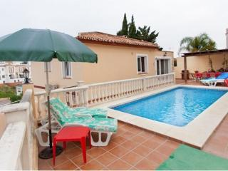 4B 2BTH Private pool villa AC WiFi Burriana beach area Nerja NVALE