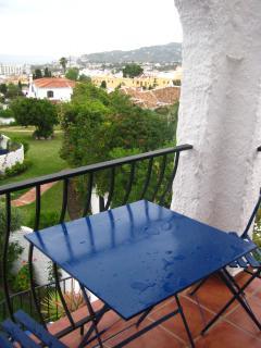 View from one of the upstairs balconies