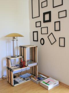Frames and shelves
