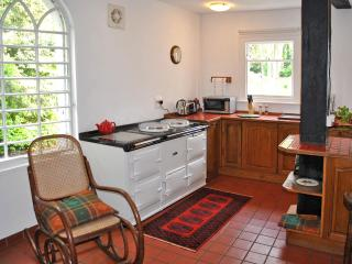 The kitchen with 4-oven AGA