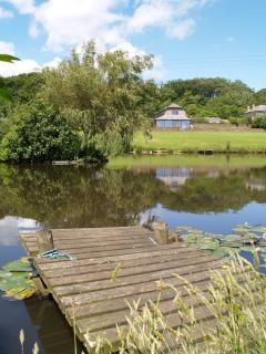Our ponds are stocked with carp for our guests to enjoy coarse fishing without charge