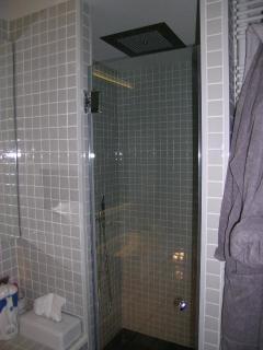 douche PLUIE en plafond de la salle de bains N° 1