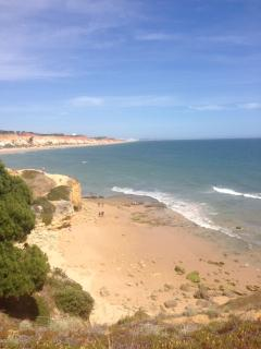 Falesia Beach less than 5 minute walk