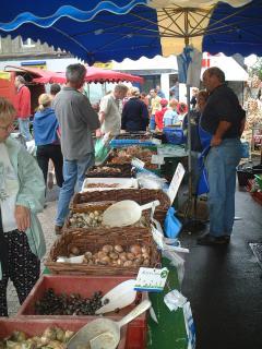 Enjoy the many local French markets
