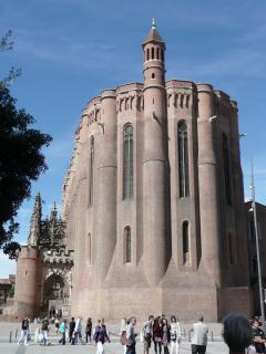 Albi's imposing cathedral, a UNESCO World Heritage site