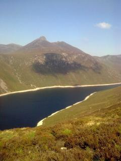 Ben Crom Resevoir - lovely walk to this point