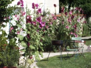 salon de jardin dans jardin partagé