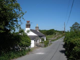 On  a quiet lane, 5 miles from Bangor and Menai Bridges over to Anglesey