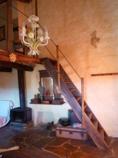 The staircase to your mezzanine boudoir.