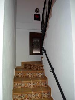 escalera a planta baja