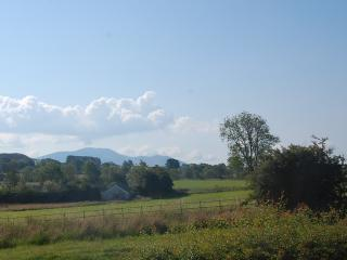 Views across the fells from the master bedroom