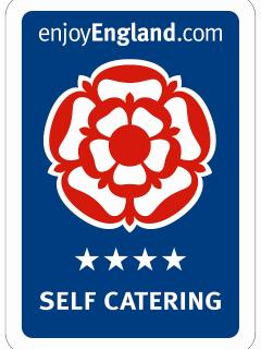 Little Mount is rated 4 star self catering by Visit England