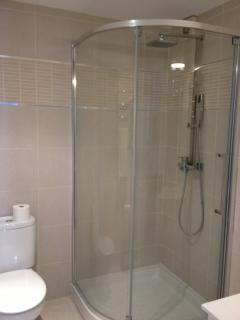 Ensuite shower room from the family bedroom
