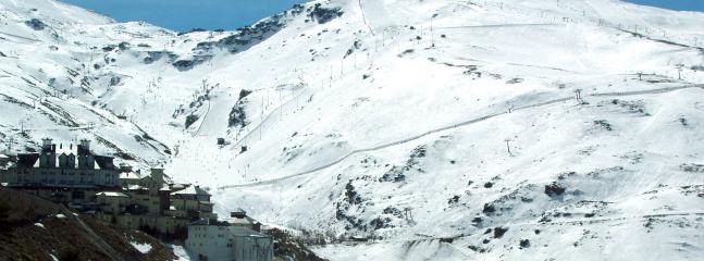 Winter skiing close by in Sierra Nevada