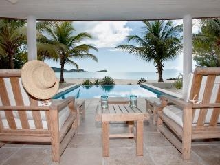 Seascape Villa - Beach Front - 5 Bedrooms, St. John