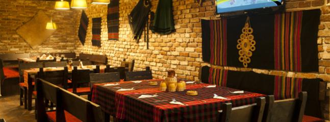 Enjoy a traditional Bulgarian meal in our in house restaurant, or have a drink or two at the bar.