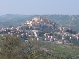 The nearby town of Casoli