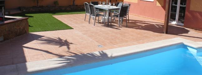 Garden with Private Heated Pool