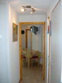 La vue du couloir