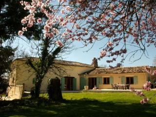 Dordogne/Lot et Garonne village villa with pool