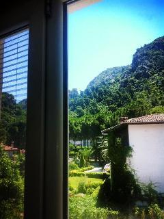 Each Villa has a few windows that faces the Taurus mountains
