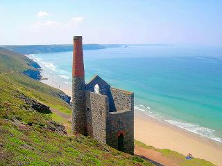 Wheal Coates and Chapel Porth Beach
