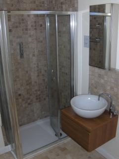 Master En Suite with power shower and large bath