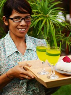 Ketut - your wonderful in house maid 6 days a week - full service