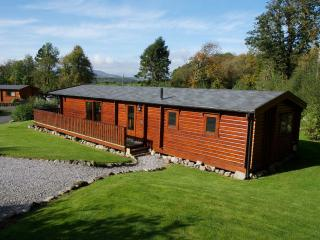 BIrchlea Lodge, with garden surround and views to Galloway Hills