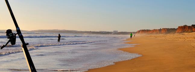 Spiaggia di Falesia - fuori stagione.