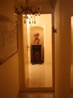 corridor to twin room