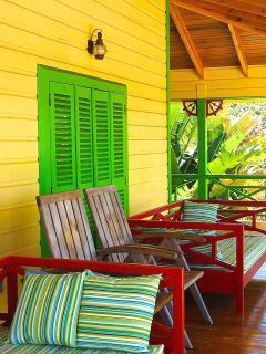 comfy daybeds for siestas on the veranda