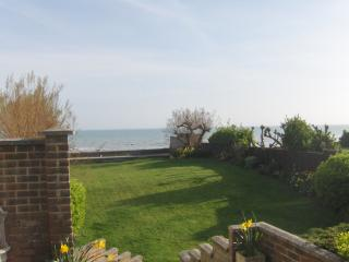 Step onto the Beach from 7 Aldwick Avenue, garden, Bognor Regis