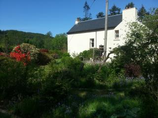 The garden at Glenhurich Lodge
