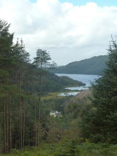 Glenhurich Lodge towards Loch Sheil