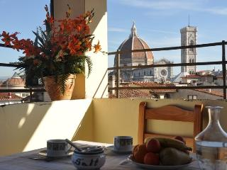 Huge 3 bedrooms flat with terrace with Duomo view, Florence