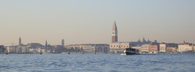 The approach to Venice