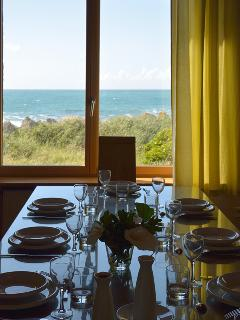 sea view, from dining room