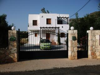 Impressive private gated drive and private parking