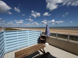 Location 4 pers bord de mer, côte de la Manche, Saint-Marcouf