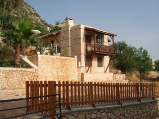Traditional stone cottage, stunning sea views, Kalkan