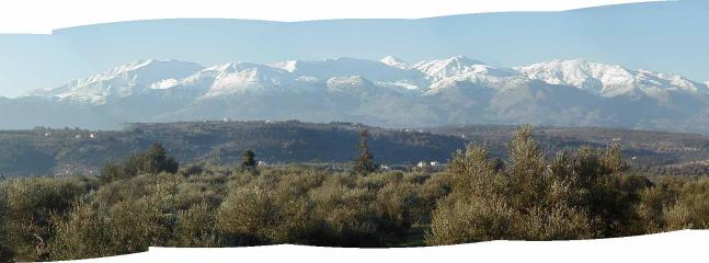 The White Mountains, from bedroom balcony