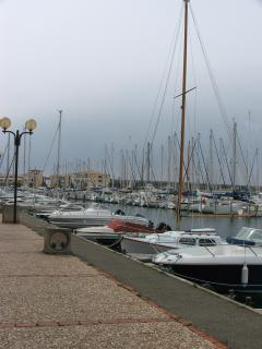 Boats in Port Leucate