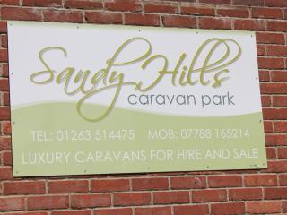 We Welcome You To Sandy Hills Caravan Park